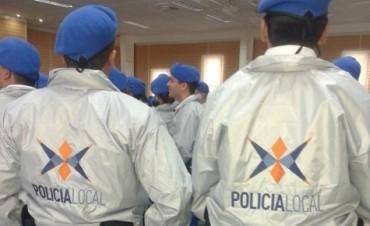Se realizará el acto de egreso de la Policía Local
