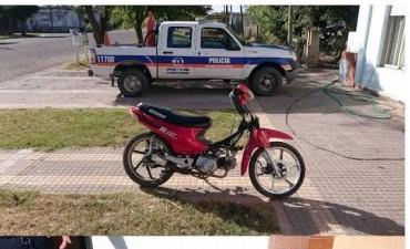 Retuvieron una moto por infracción a la ley 24449