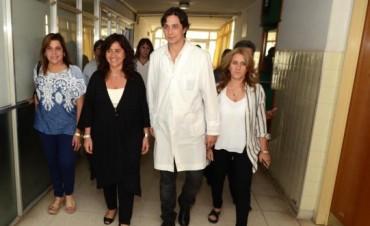 Zulma Ortíz entrego subsidios en Alvear y Saladillo