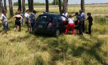 Accidente vial en la Ruta 226