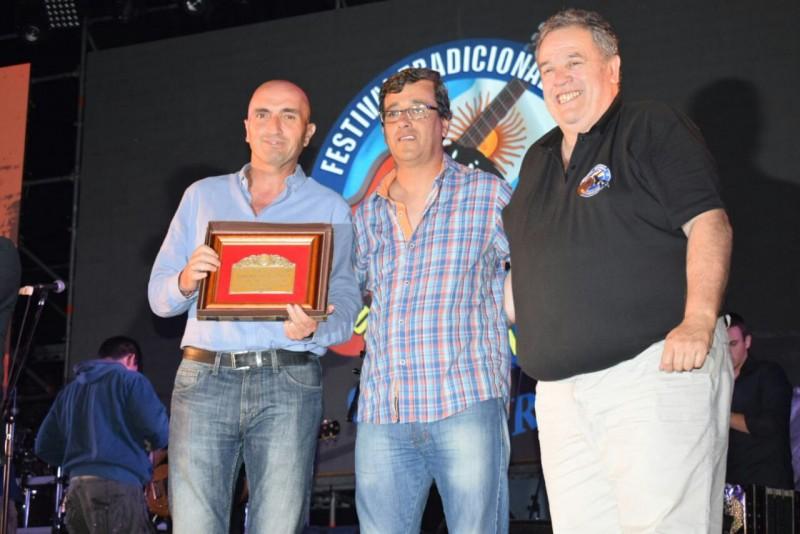 Eduardo Rodríguez fue reconocido por el Festival Nacional de Doma y Folclore