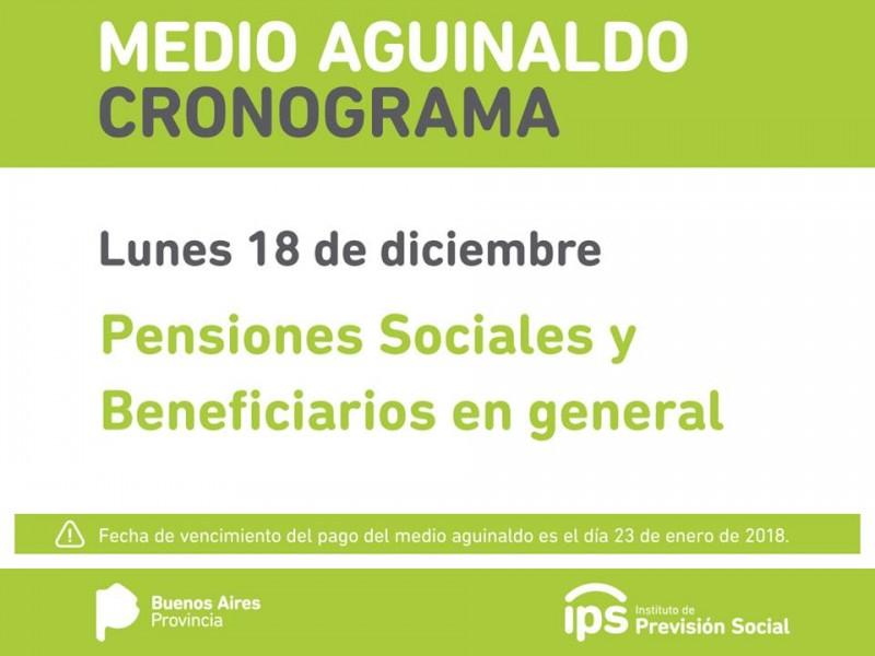 IPS paga el aguinaldo en una fecha