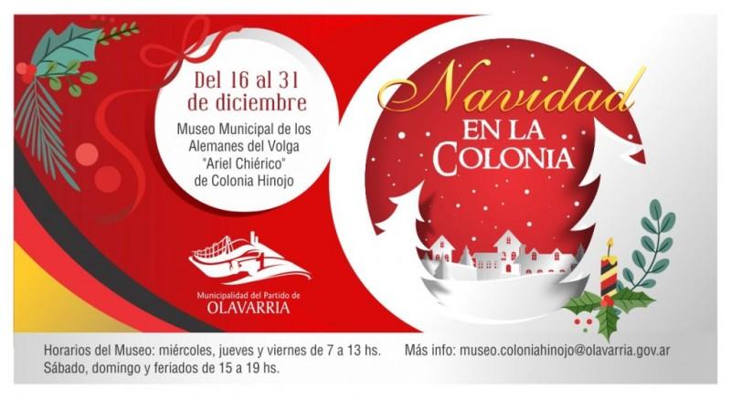 """El Museo Ariel Chiérico presenta """"Navidad en la Colonia"""""""