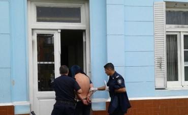 Ladrón fue aprehendido por la Policía