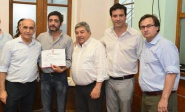 La UCR provincia distinguió a los concejales radicales electos