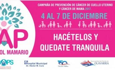 Controles gratuitos para prevención de cáncer de cuello de útero y mama