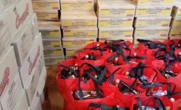 Pagos y entrega de la bolsa navideña del Sindicato Municipales de Olavarría