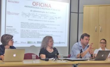 Investigador de la FACSO desarrolla actividades de intercambio científico y académico en Río de Janeiro