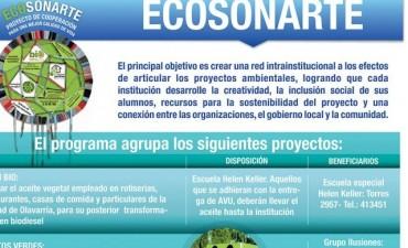 Reunión mensual de Ecosoñarte: balance del Eco Canje y proyectos para 2018