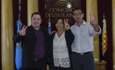 Azul: Asumieron concejales de Unidad Ciudadana