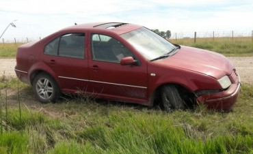 Hallaron  un auto robado en pleno microcentro