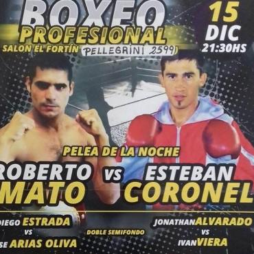 BOXEO:Roberto Mato cierra el año en El Fortin