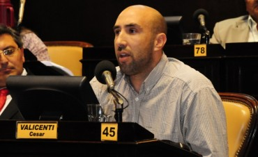 Valicenti: 'todos los proyectos van en línea con el achique del estado'