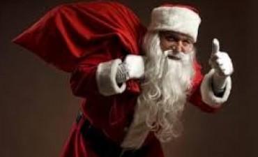 Papá Noel llega al Paseo Jesús Mendía