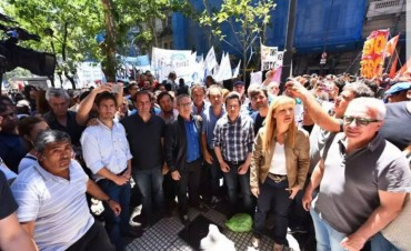 Olavarrienses Peronistas marcharon en Buenos Aires