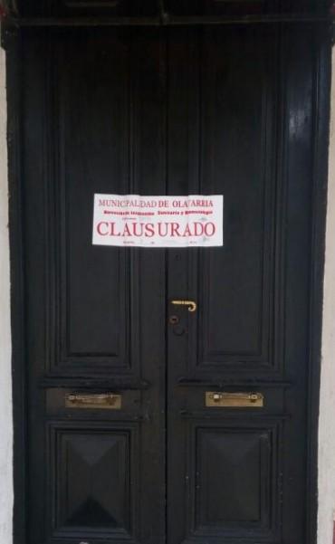 Bromatología clausura un restaurant céntrico