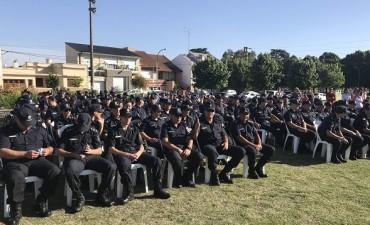 Se realizó el acto conmemorativo por los 137 años de la creación de la policía de la Provincia de Buenos Aires