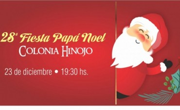 Llega Papá Noel a Colonia Hinojo