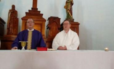 Monseñor Salaberry ofició la Santa Misa de Navidad en la Unidad Nº2