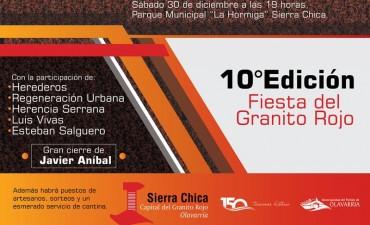 Sierra Chica se prepara hace meses para décima edición de la Fiesta del Granito Rojo