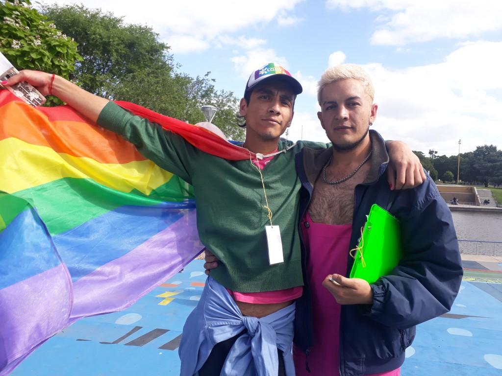 Lu32 en la marcha regional del orgullo LGBTIQ+ Olavarría 2018