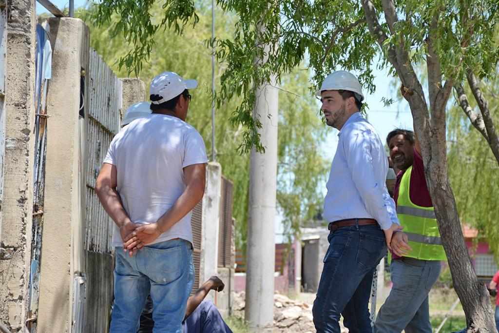 Importante inversión en el barrio Trabajadores I y II