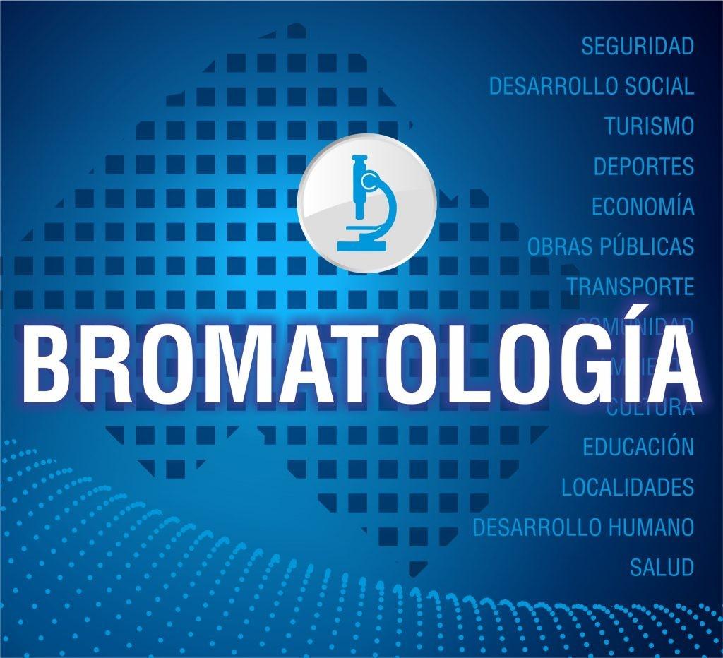 Bromatología: muestras de laboratorio