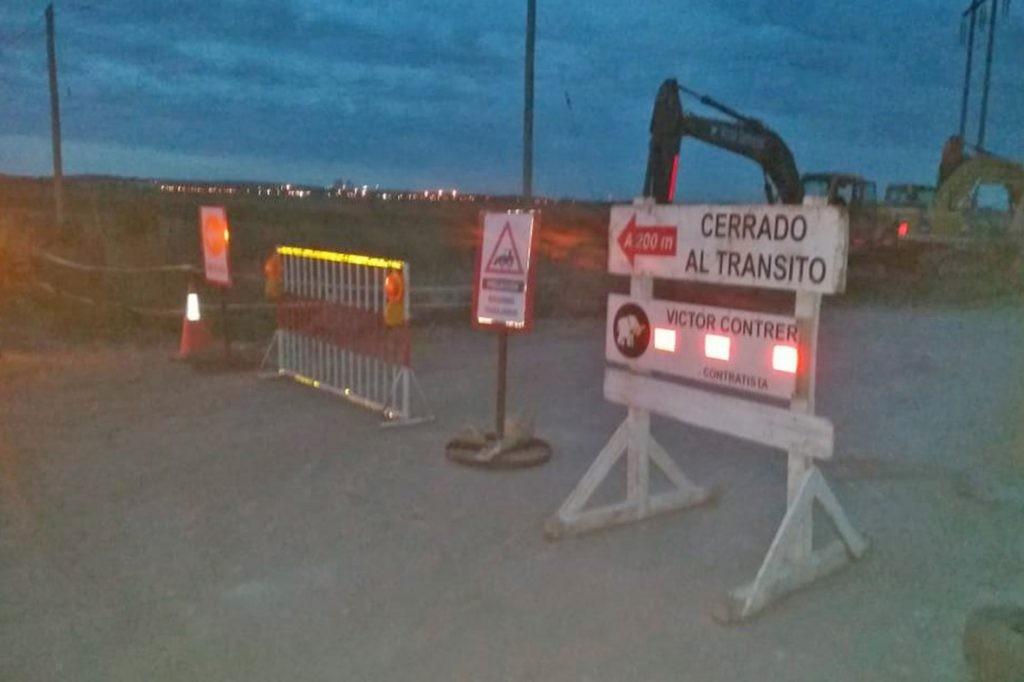 Nuevo gasoducto: hasta este lunes se mantiene el corte de tránsito