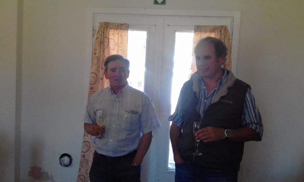 Remate fin de año ayer en Olavarría Alzaga Unzué y Cía con Mario Esnal