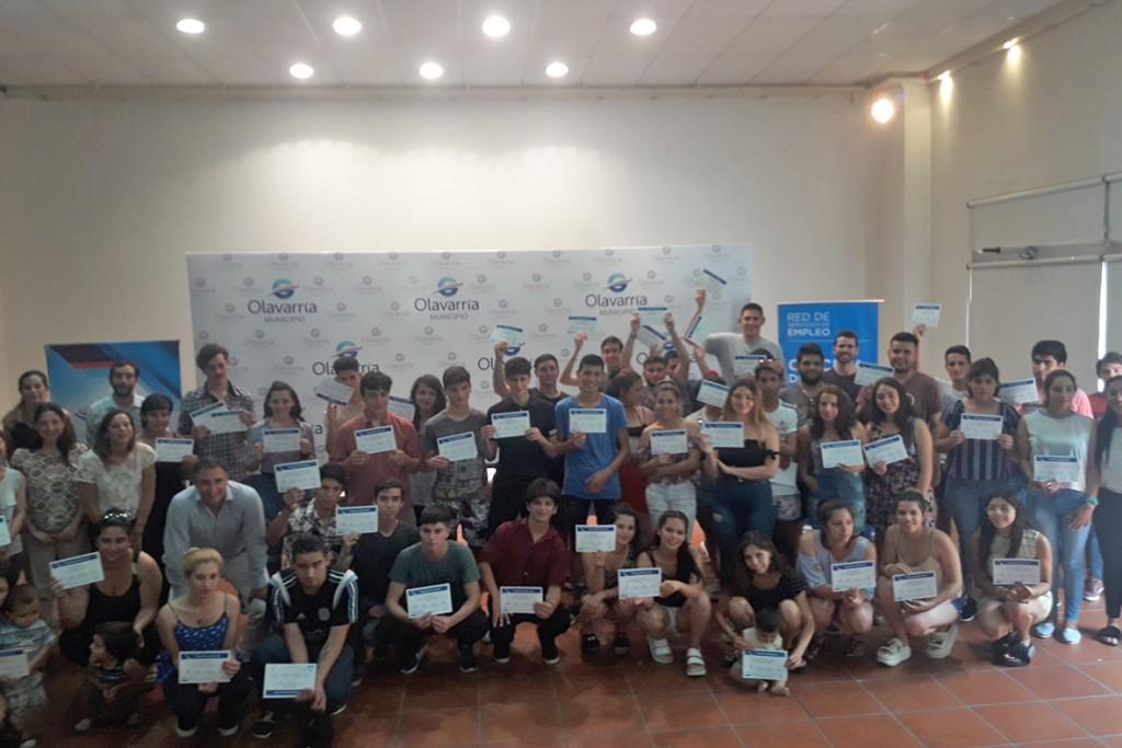 Los participantes del Curso de Introducción al Trabajo recibieron sus diplomas