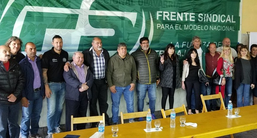 Pablo Moyano y su visita a Olavarría
