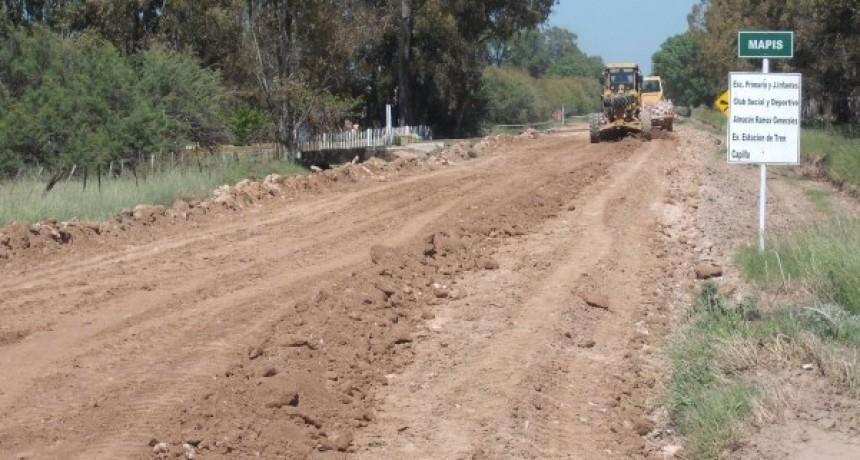 Caminos Rurales: la Sociedad Rural dio el informe del último mes