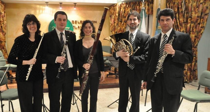 """El Quinteto municipal """"Vientos de Olavarría"""" brindará un Concierto de Navidad"""
