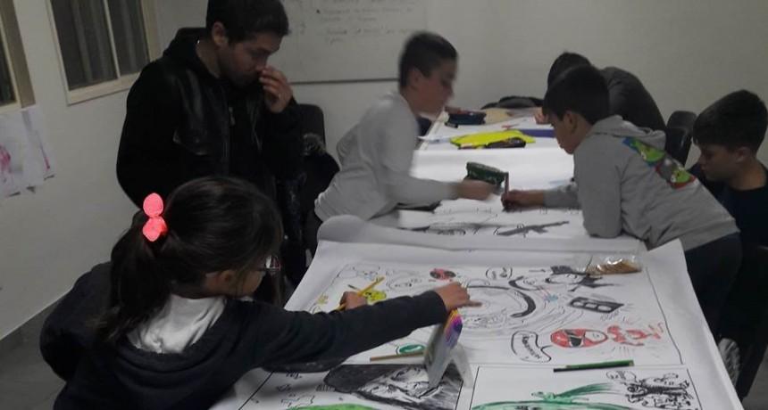 Muestra de los talleres de Arte Infantil e Historietas