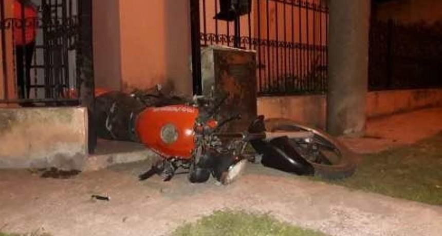 Un accidente se cobró la vida de un motociclista