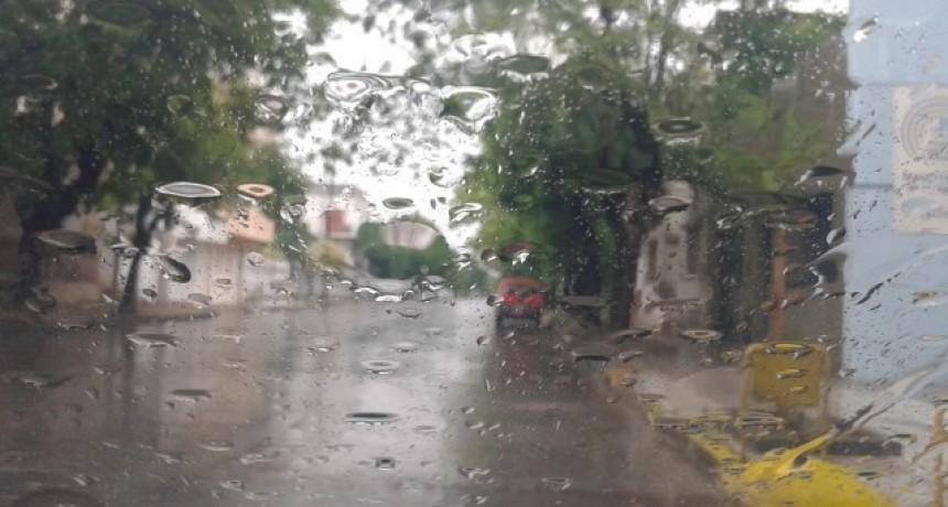 Registros de lluvia de la región