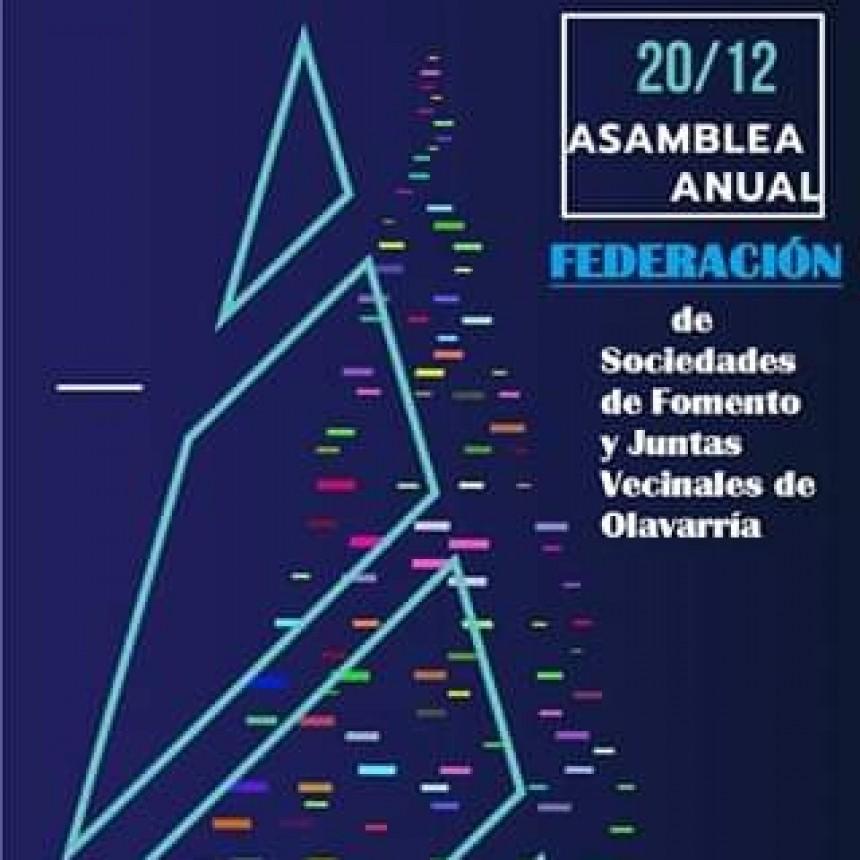 Federación: Convocan a la última reunión del año