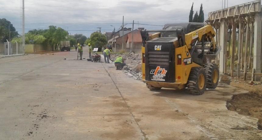Continúan los trabajos de conservación de pavimentos de hormigón