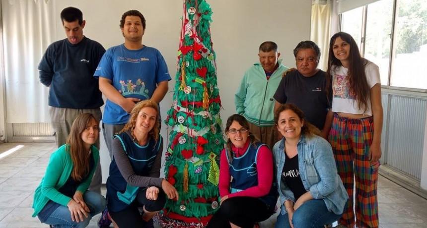 Talleres navideños y cierre de talleres en Loma Negra