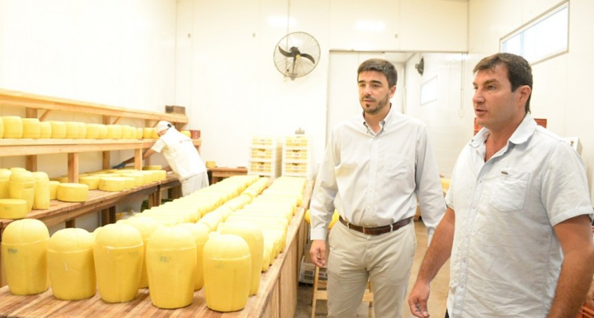 Empresa láctea local promueve prácticas sustentables