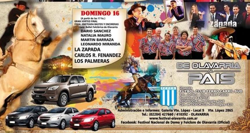 Última jornada  del Festival de Doma y Folklore