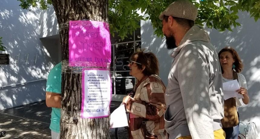 Espacios culturales se manifestaron en el HCD para que se trate la ordenanza que los regula