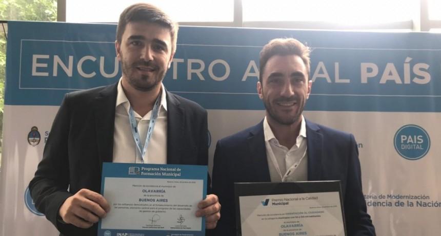 Dos menciones de excelencia para Olavarría entre 500 ciudades del país