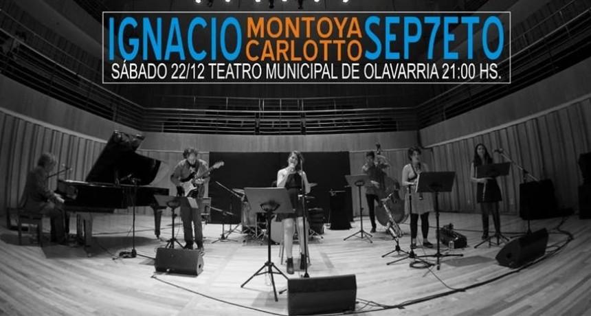 Montoya Carlotto Septeto en el Teatro Municipal