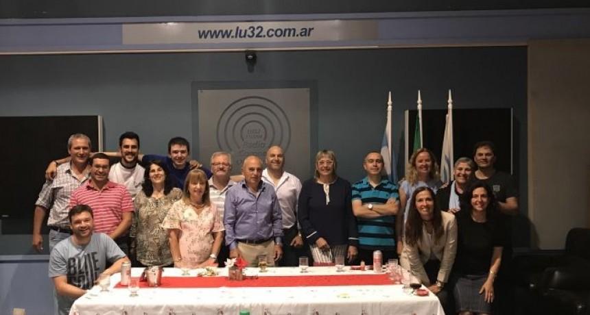 Celebración en Radio Olavarría