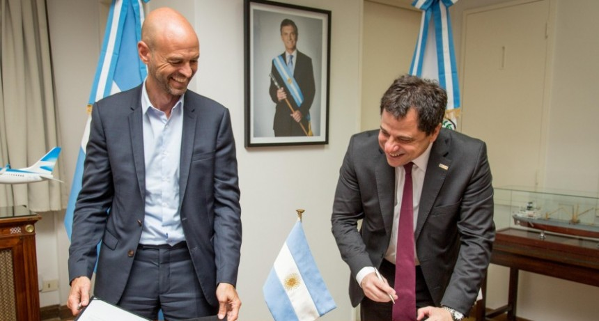 Nación invertirá 2800 millones de pesos para renovar el señalamiento del tren Roca a La Plata