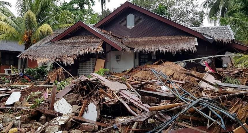 Dramáticas imágenes del tsunami en Indonesia