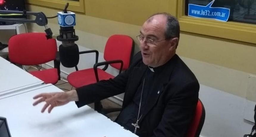 En Navidad, el Obispo Salaberry pidió construir un mundo para todos