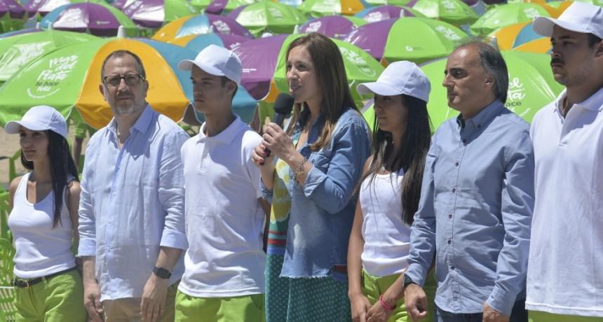Vidal inauguró playas públicas en Mar del Plata, y sumará playas gratuitas en Necochea y Mar de Ajó