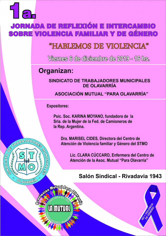 Anuncian jornada 'Hablemos de Violencia'